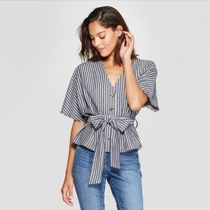 A New Day Striped Shirt